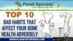 top 10 bad habits that affect your bone health