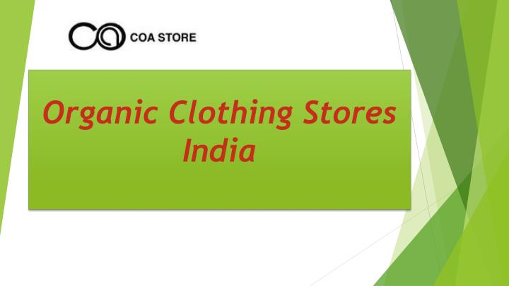 organic clothing stores india n.