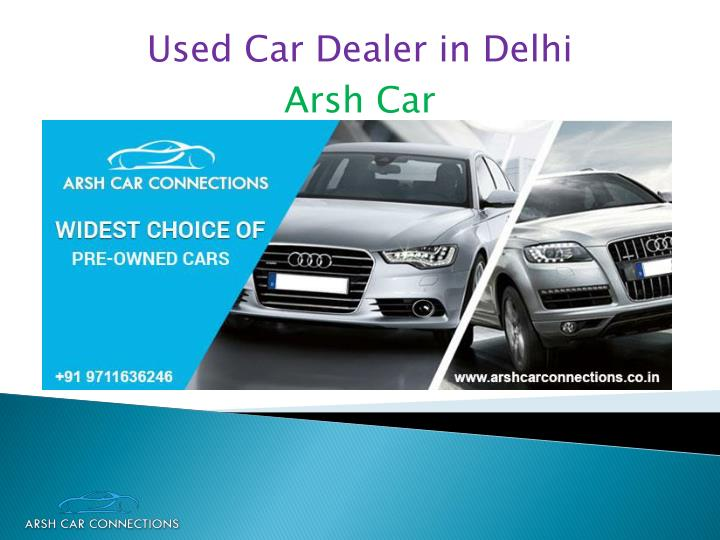 used car dealer in delhi n.