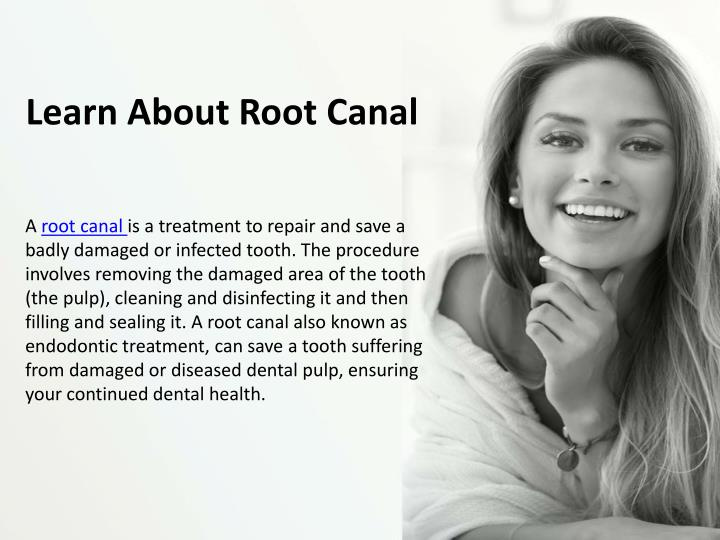 learn about root canal n.