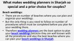 what makes wedding planners in sharjah so special and a prior choice for couples 5