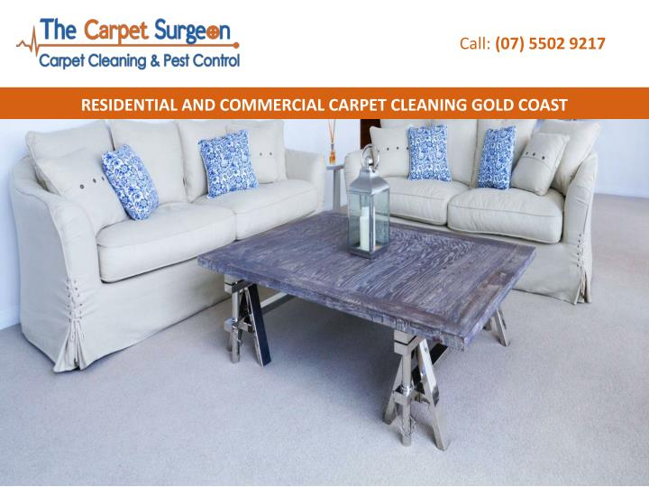 Commercial Carpet Cleaning Gold Coast