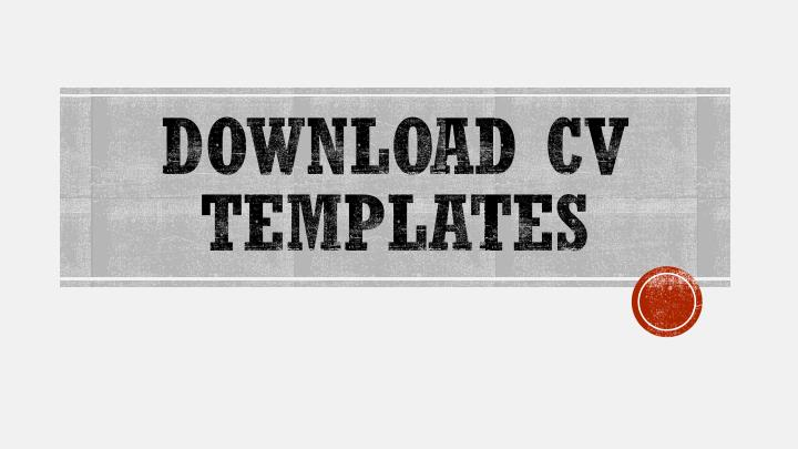 download cv templates n.