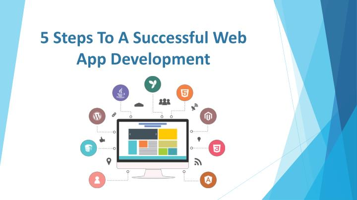 5 steps to a successful web app development n.
