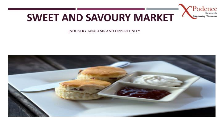 sweet and savoury market n.