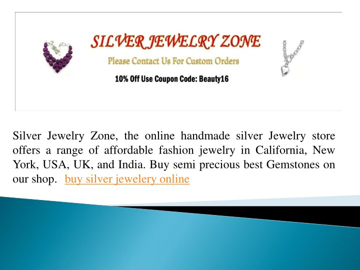 silver jewelry zone the online handmade silver n.