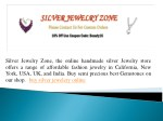 silver jewelry zone the online handmade silver