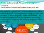 project outsourcing management program company http devcreation website project outsourceing php
