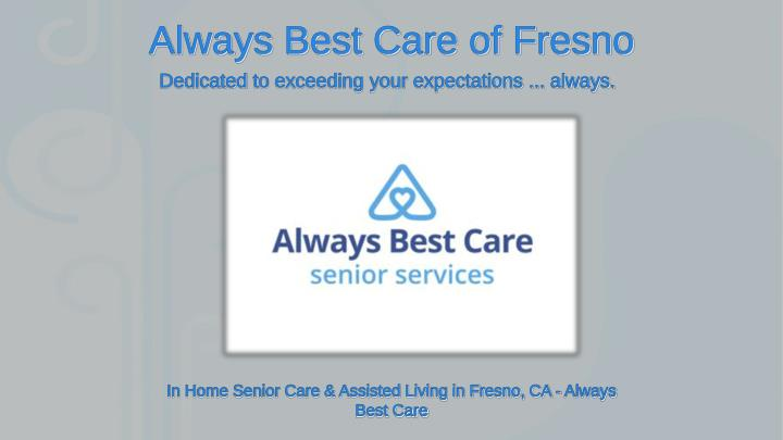 always best care of fresno n.