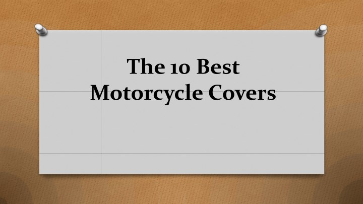 the 10 best motorcycle covers n.