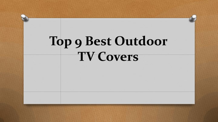 top 9 best outdoor tv covers n.