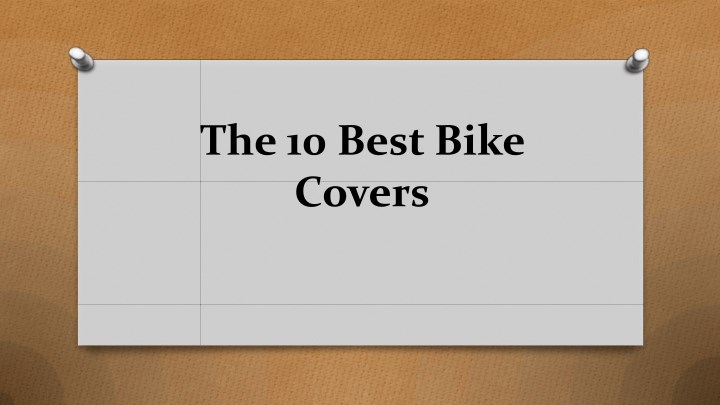 the 10 best bike covers n.