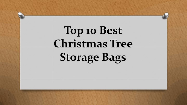 top 10 best christmas tree storage bags n.
