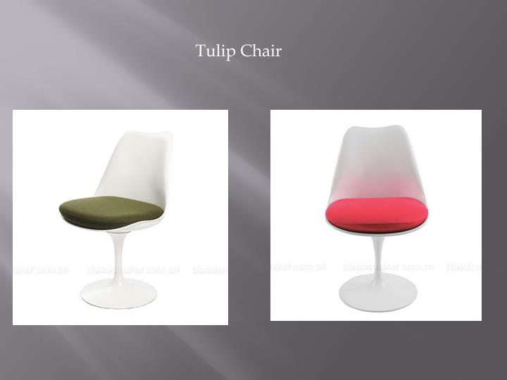 tulip chair n.