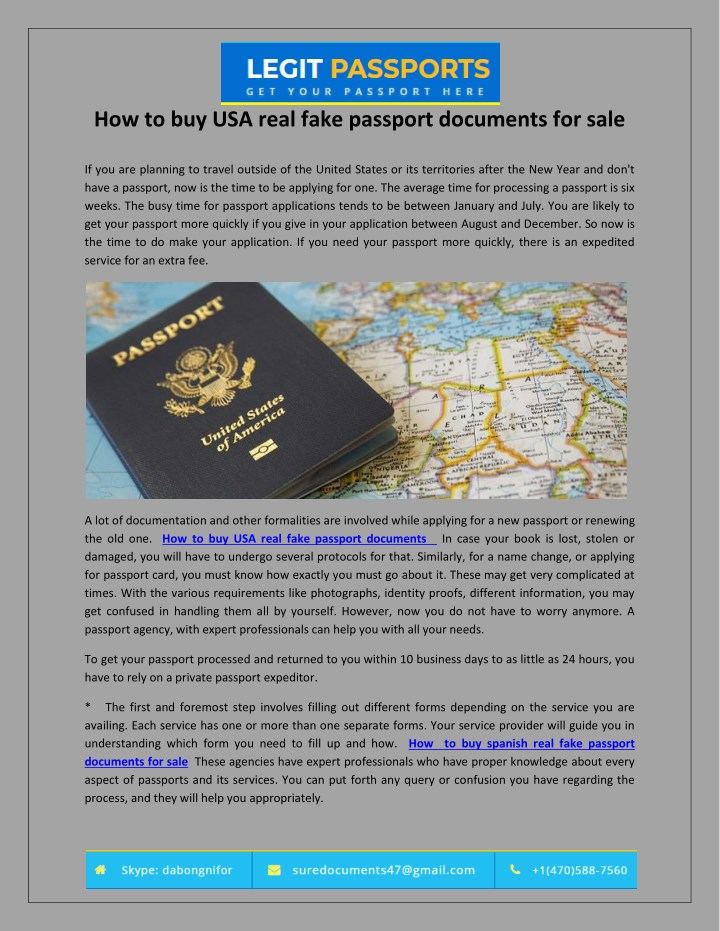 how to buy usa real fake passport documents n.