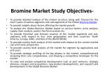 bromine market study objectives