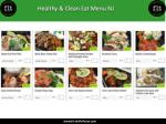 healthy clean eat menu nj