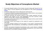 study objectives of cenospheres market