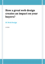 how a great web design creates an impact on your