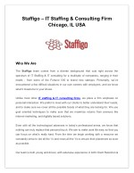 staffigo it staffing consulting firm chicago