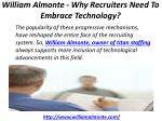 william almonte why recruiters need to embrace technology 3