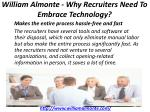 william almonte why recruiters need to embrace technology 4