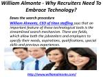 william almonte why recruiters need to embrace technology 5