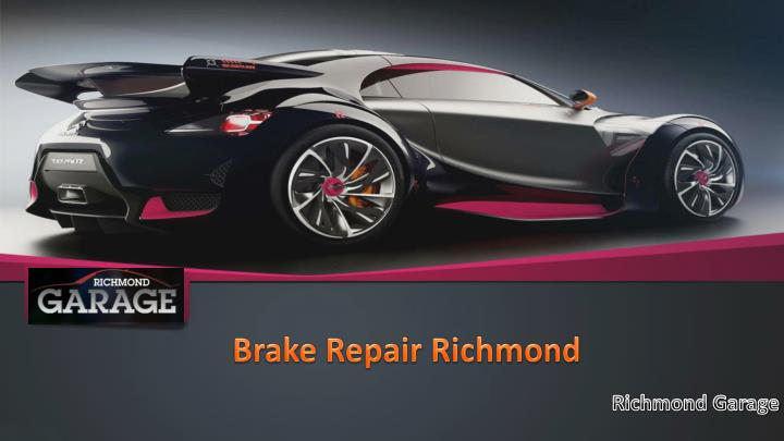 brake repair richmond n.