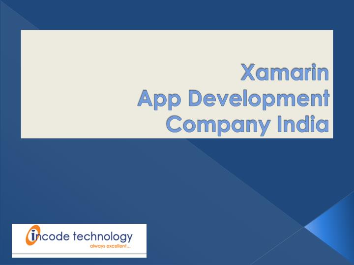 xamarin app development company india n.