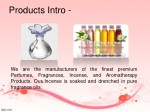products intro