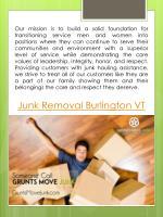 junk removal burlington vt