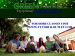 what aspects of a company become exceptional tutorialoutletdotcom 2