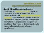 talc powder in india http www earthminechem com talc