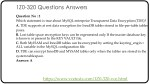 1z0 320 questions answers 1