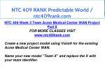 ntc 409 rank predictable world ntc409rank com 11