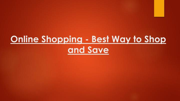online shopping best way to shop and save n.