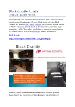 black granite russia