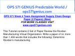 ops 571 genius predictable world ops571genius com 25