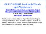 ops 571 genius predictable world ops571genius com 29