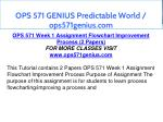 ops 571 genius predictable world ops571genius com 5