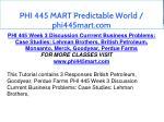 phi 445 mart predictable world phi445mart com 9