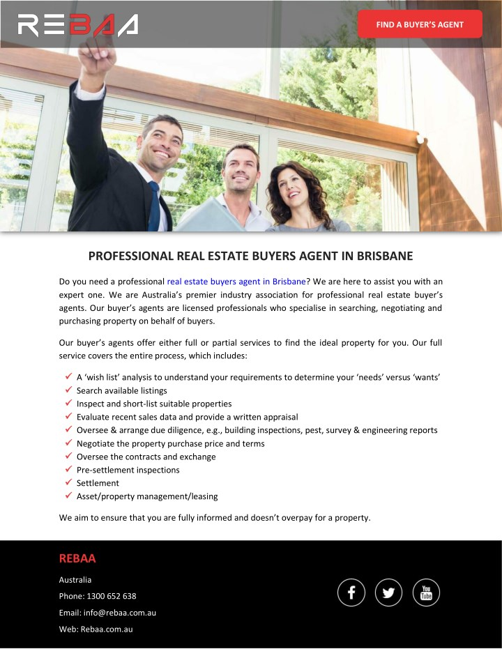find a buyer s agent n.