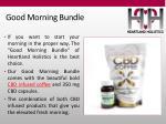 good morning bundle