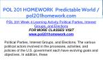 pol 201 homework predictable world pol201homework 16
