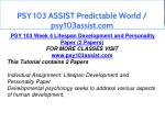 psy 103 assist predictable world psy103assist com 11