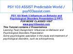 psy 103 assist predictable world psy103assist com 12