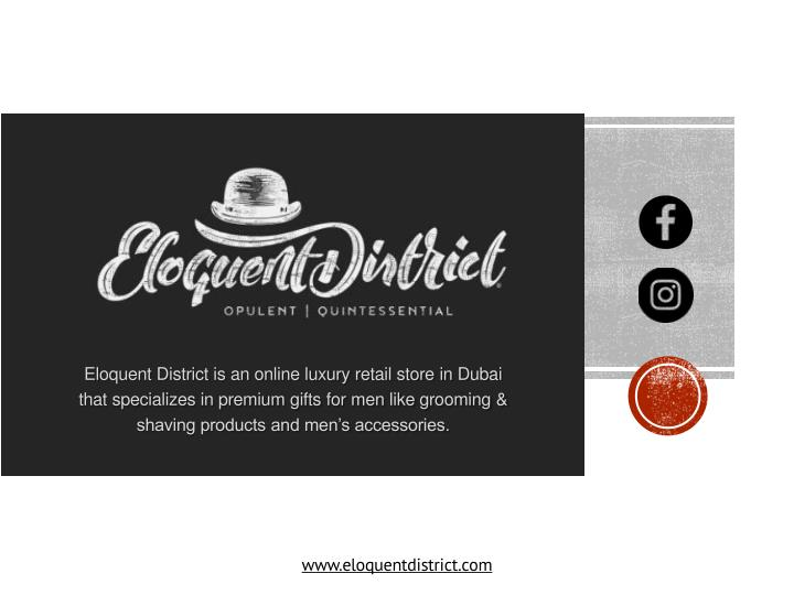 eloquent district is an online luxury retail n.