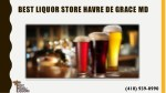 best liquor store havre de grace md