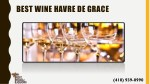 best wine havre de grace
