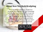about new you body sculpting